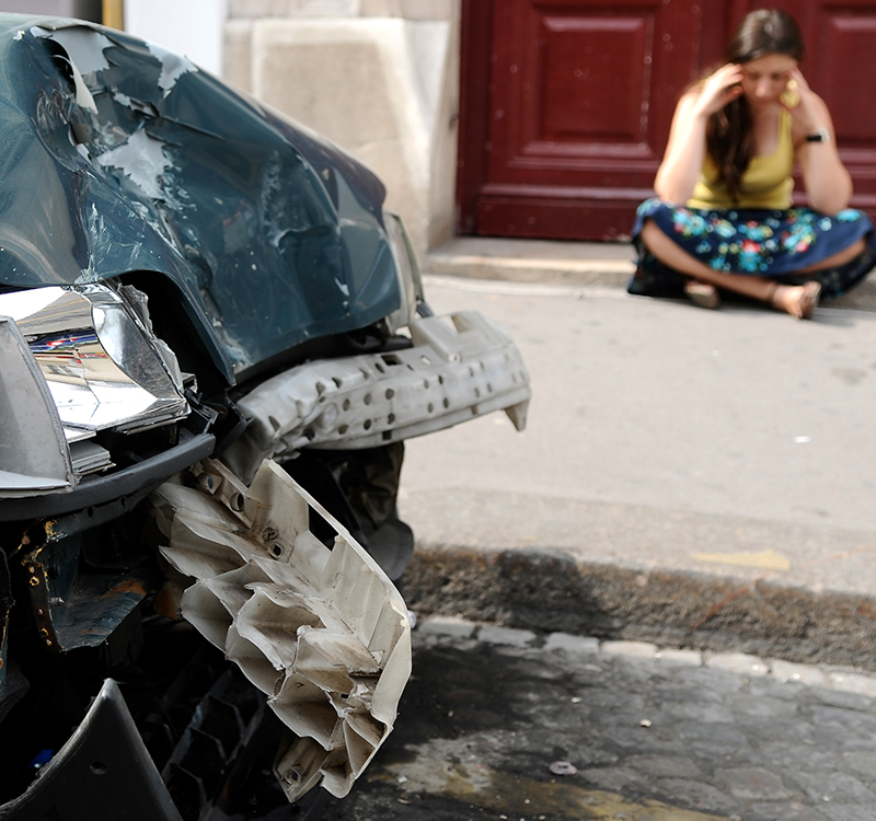 Car Crash and Psychological Impact